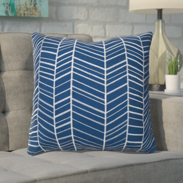 Ash Hill 100% Cotton Throw Pillow by Langley Street